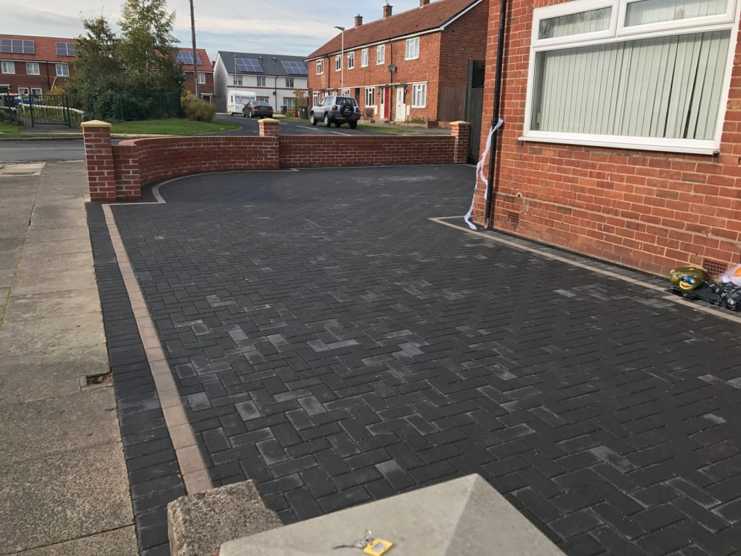 Block Paving Contractor North East