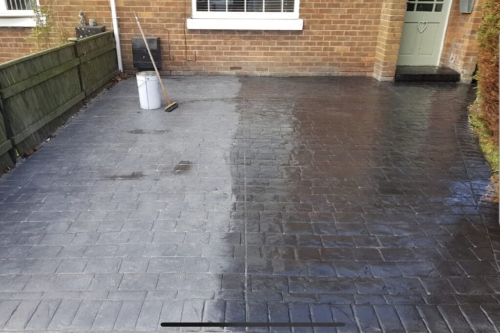 Re-Sealing Pattern Imprinted Concrete North East