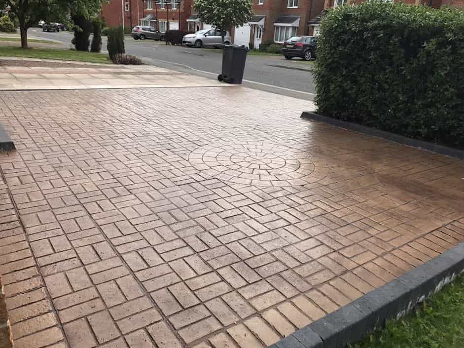 Pattern Imprinted Concrete Driveways North East
