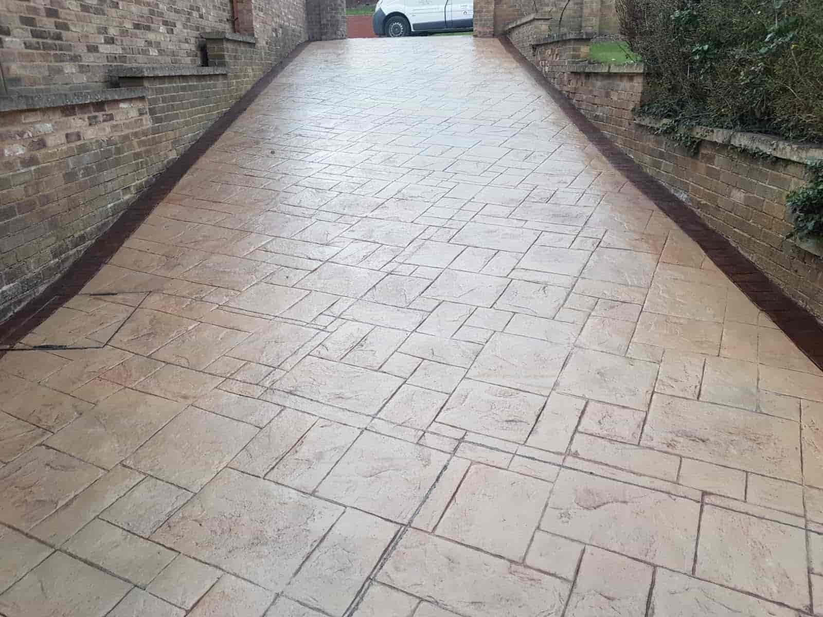 Imprinted Concrete Driveway North East
