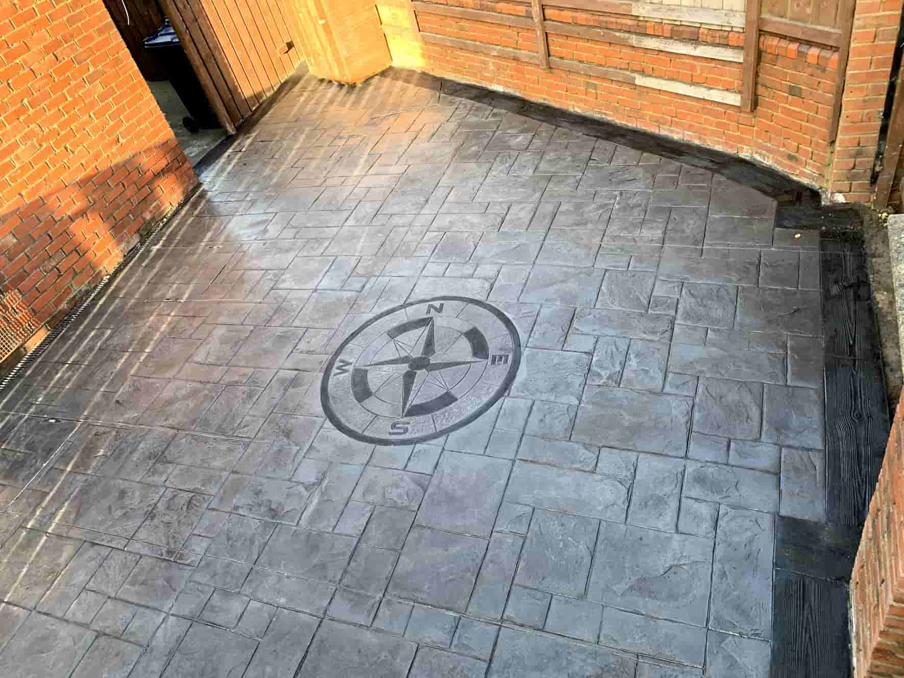 Imprinted Concrete Patio Installers North East