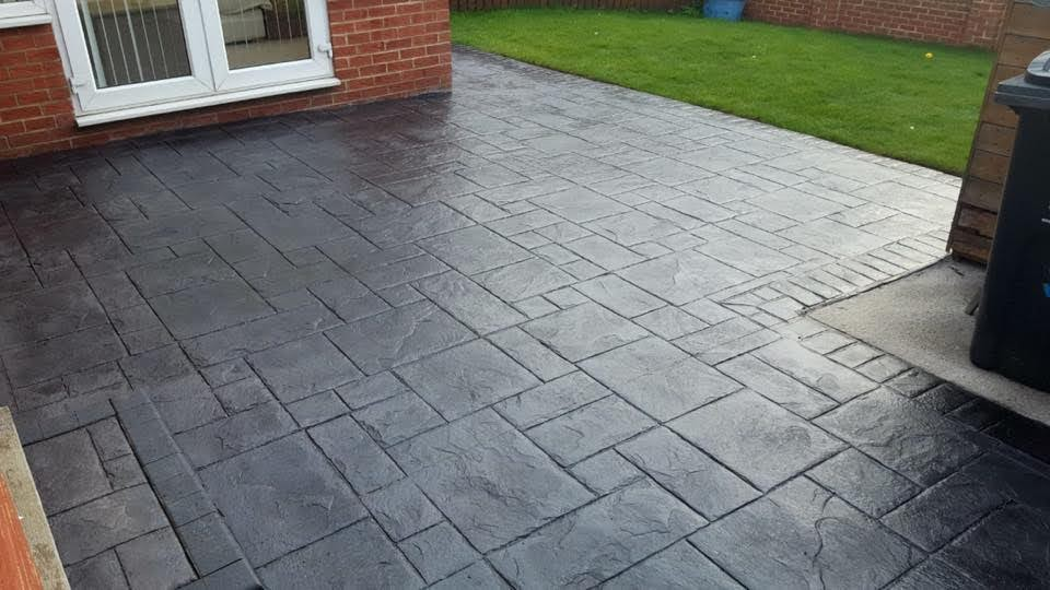 Stamped Concrete Patio North East