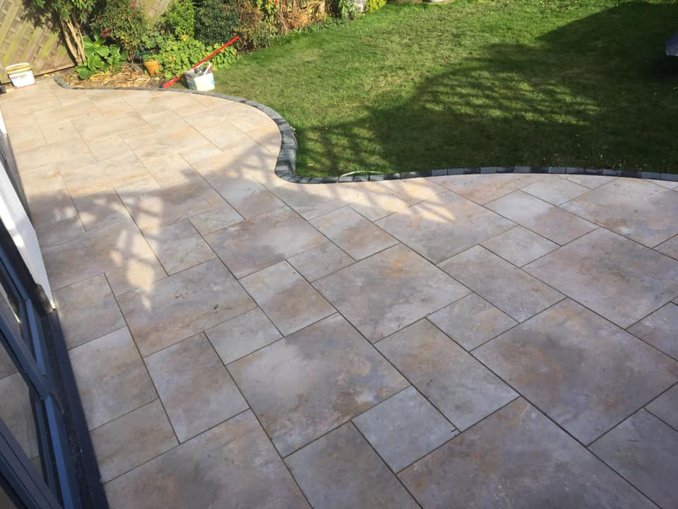 Porcelain Paving Contractor North East