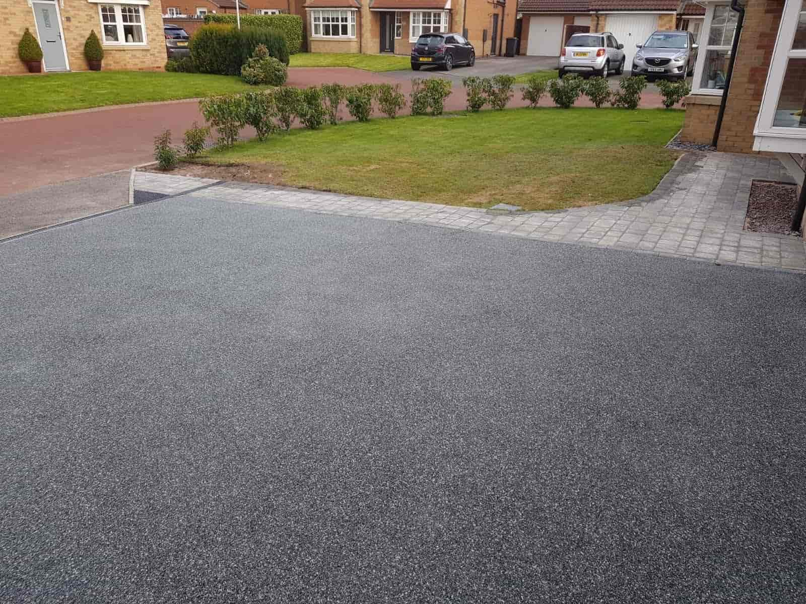 Grey Resin Bound Driveway North East